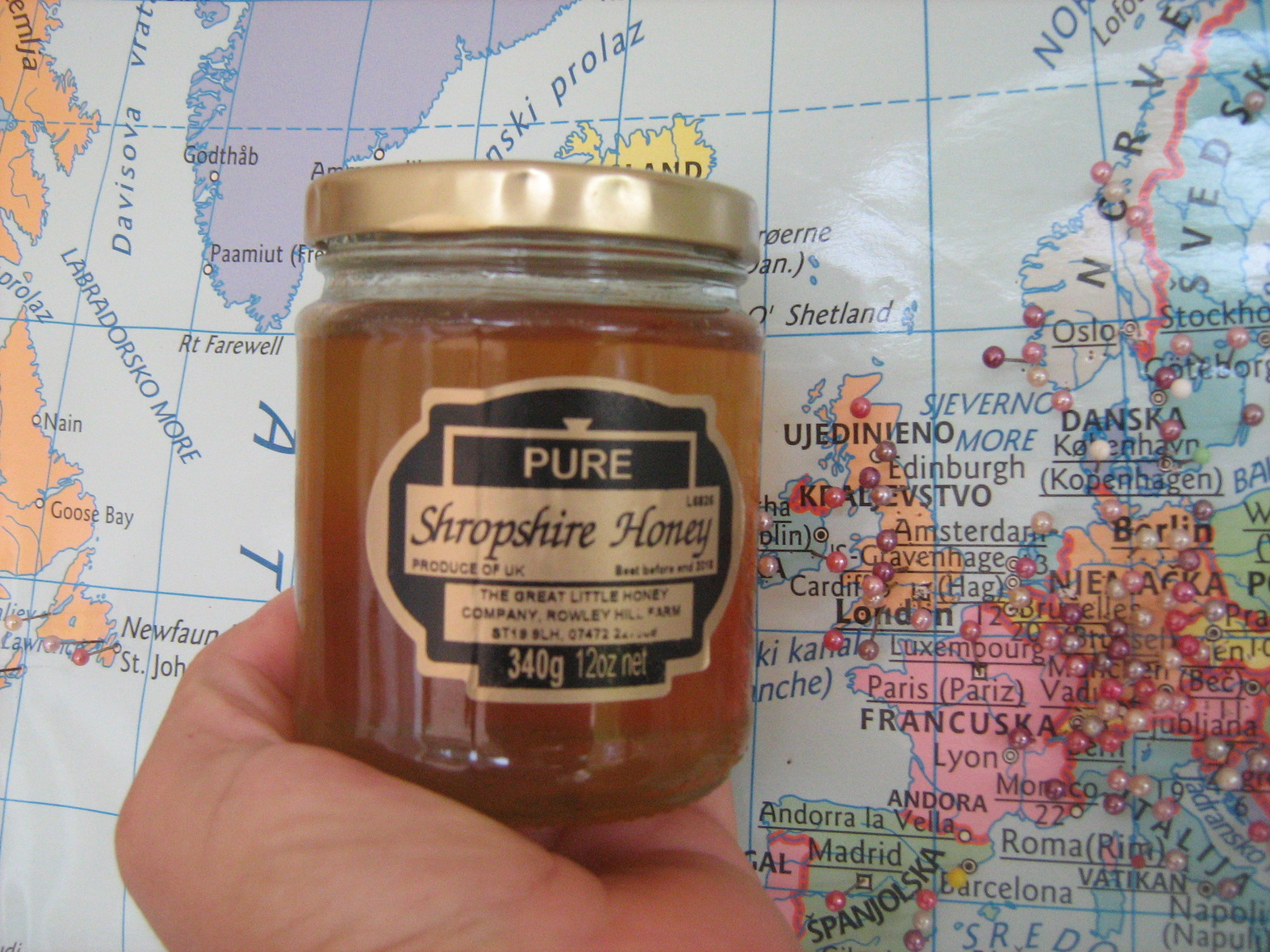 The Langerons Shropshire honey